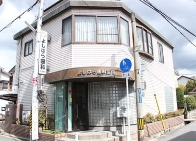 外観です。久宝寺駅から徒歩8分の場所に位置しています。