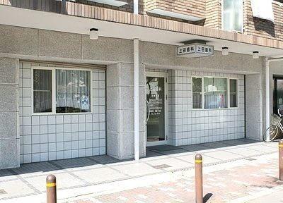 北田辺駅2番出口より徒歩5分、上田歯科です。