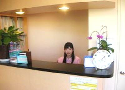 受付には優しく、笑顔のスタッフがおりますので、お問い合わせなどはお気軽にお話ください。