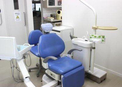 診療室です。何でもご相談ください。