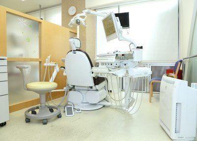 清潔で明るい診療室です。