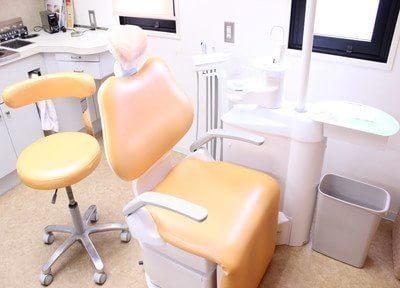 主に白を基調としており清潔感のある診療室です。