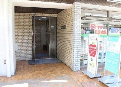 入り口です。貴美島デンタルオフィスはイシマルマンション501号にあります。