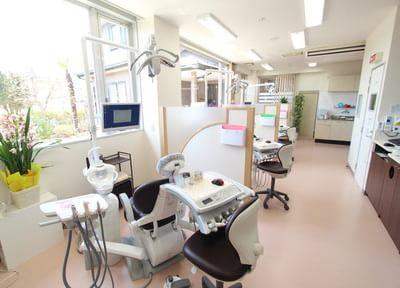 セパレートされた診療室