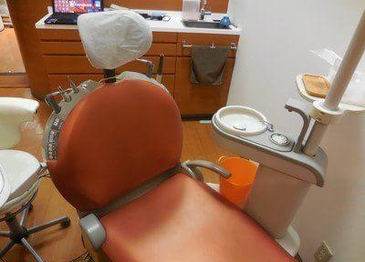 診療室は清潔で落ち着いた空間です。
