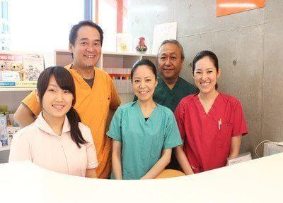 グランティース武蔵小山歯科のスタッフです。皆様のご来院を、心よりお待ちしています。