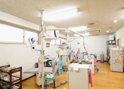 広々とした綺麗な診察室です。