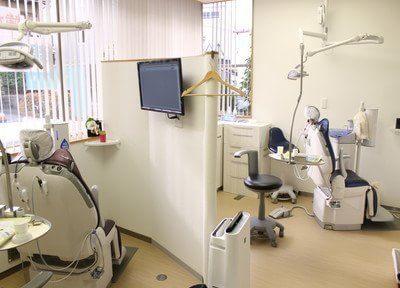 デジタルレントゲンにより低い被曝線量で検査が可能です。