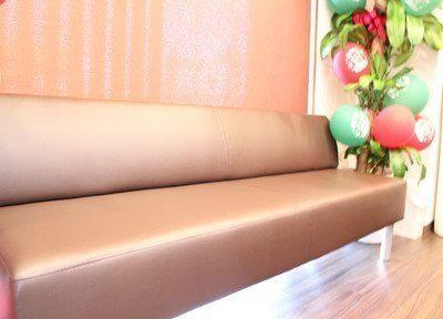 待合室ルームでは、診療前後はこちらでゆったりとお待ちください。
