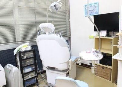 診療室の衛生管理に気をつけています。