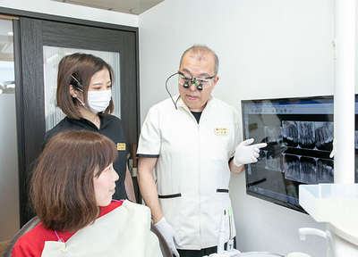 えがしら歯科 歯周・インプラント_特徴1