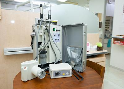 患者さまだけでなく、ご家族の生活にも配慮し、訪問します