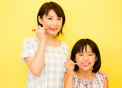 健康な歯の予防や、お口周りのくせの改善なども行っています。
