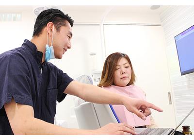 分野ごとに歯科医師と連携