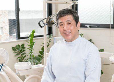 坂梨歯科医院の院長です。