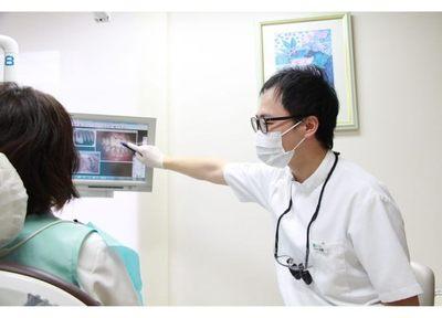 歯を抜く必要がある場合は、レントゲン写真や歯科用CTの画像を使い、理由を説明しております