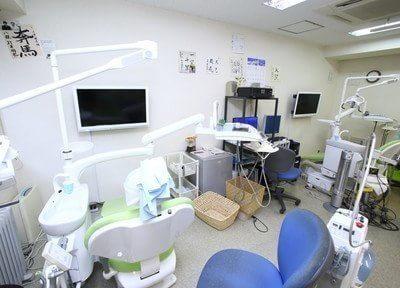 アットホームな雰囲気の診察室です。