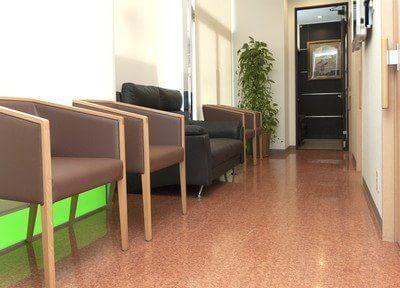 待合室です。快適に、リラックスしてお過ごし下さい。