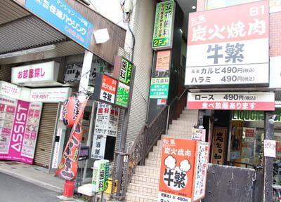 平日20時まで受診可能、新中野駅から徒歩1分です