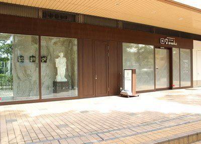 田中矯正歯科の外観です。市川駅から徒歩1分の場所に位置しております。