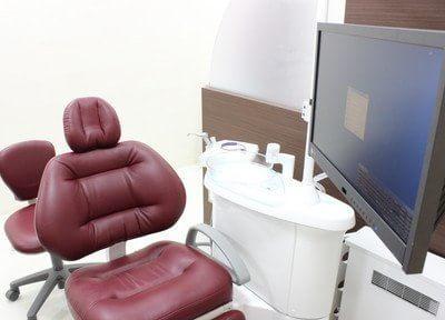 診療室も、高級感漂う空間です。