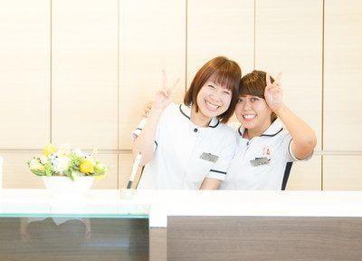 スタッフです。笑顔で患者様をお迎えいたします。