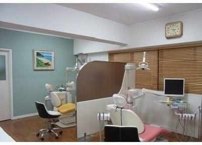 清涼感のある診察室