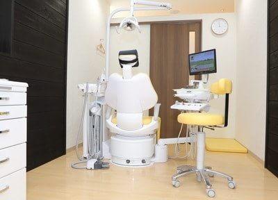 診察室です。患者様に寄り添い、二人三脚で治療を進めてまいりますので、ご安心下さい。