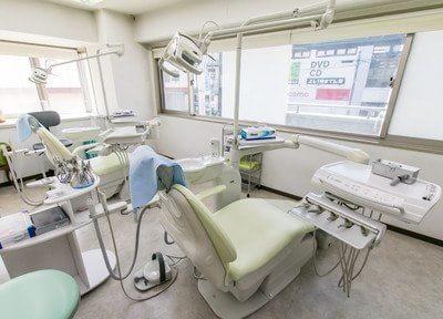 こちらの診療室にて治療致します。