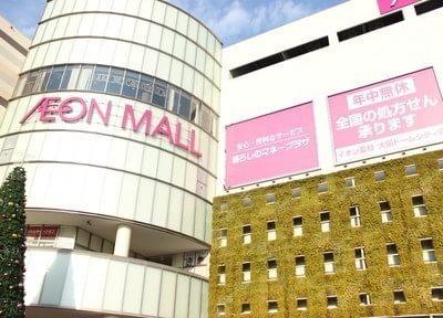 ドーム前駅よりすぐ、大阪ドームシティT.T.C歯科医院です。