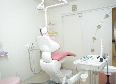 診療室は個室ですので、プライベートな空間で治療を受けていただけます。