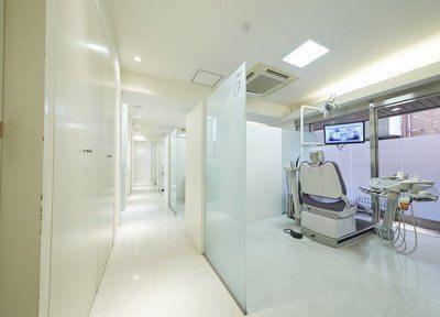 診療室は個室制です。