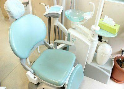 診療ユニットは特に清潔に気をつけています。