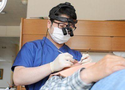 加登歯科医院では経験豊富なドクターが丁寧に治療を行います。