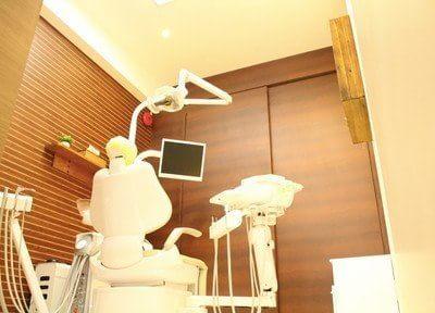 個室の診療スペースもあります。