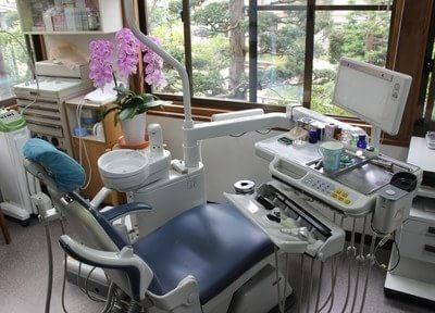 清潔な診療チェアで治療を行います。治療について不安な点がありましたら、お気軽にご相談ください。