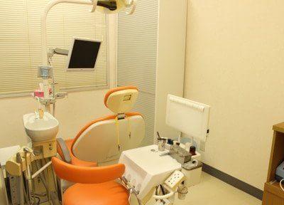 診療室です。こちらで治療を受けていただきます。