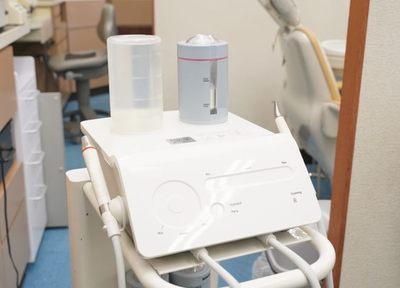 担当制の歯科衛生士によるスケーリングやエアフローを行う定期健診