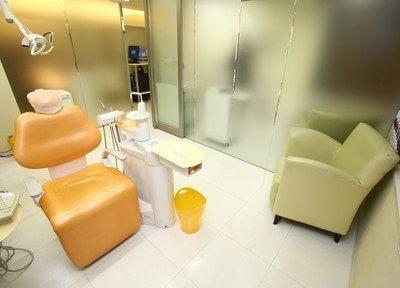診療スペースは全て広々とした個室となっています。