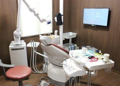 個室の診療室もご用意していますのでプライバシーを要する治療をご希望の場合はお申し出下さい。