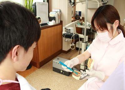 患者さまの自覚や自己管理によって将来的に健康な歯がつくられます。