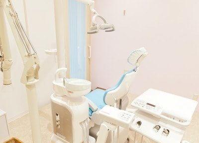 診療室は患者様のプライバシーに配慮した造りになっております。