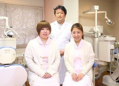 ジャスミン歯科クリニックのスタッフです。笑顔で皆様のご来院をお待ちしております。