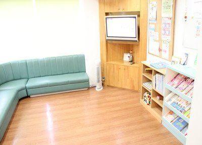 待合室です。こちらで診療の前後はお待ちください。