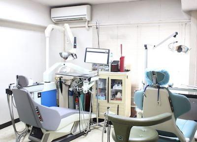 診療室です。アットホームな雰囲気です。