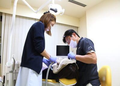 自然な歯をできるだけ残すため、削る量を抑えた虫歯の治療をしています