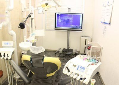 診療室です。こちらは、個室タイプとなっております。