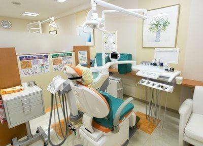 こちらが診療台になります。幅広い診療で、様々なお悩みに対応しております。