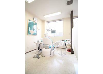 待合室です。治療の前後にはこちらでお待ちになって下さい。