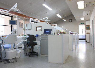 診療室です。常に清潔な環境を心がけています。